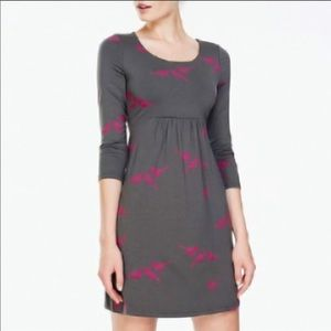 Boden Gray with Birds Tunic Dress - US Size 12L